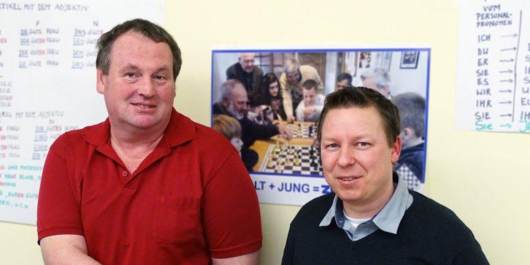 Vorstandschaft des Schachclub Beilngries'.